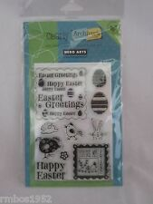 Hero Arts Clear Stamps Easter Set Exclusive Collection Made for Archivers NEW