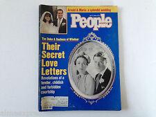 People Weekly Magazine May 12, 1986 Arnold Schwarzenegger & Maria Wedding Photos