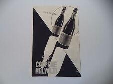 advertising Pubblicità 1943 PROSECCO CARPENE' MALVOLTI