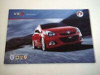 Vauxhall . VXR Range . 2011 Models . Edition 2 . Sales Brochure  VXR8 GTS