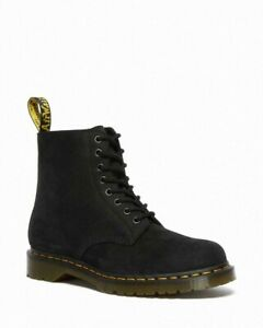 Dr Martens 1460 Pascal Black Milled Nubuck Leather Boots