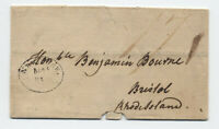 1802 New York oval handstamp stampless to Bristol RI [H.768]