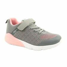 American Club Girls' Sport shoes with touch fastener RL11 Gray-Pink grey
