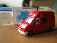 RIETZE, 50704, Ford Transit, SAPEURS POMPIERS, 1/87 -neuf, BO-