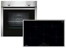 NEFF XB18I Backofen-Set BCA1502 Induktionskochfeld 80cm TBD4800N EEK: A