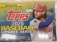 2020 Topps MLB Baseball Update Series Retail Blaster Box Sealed