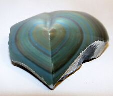 Rainbow Obsidian Heart Shaped Stone Polished Rock Natural Gemstone 2.5 inch #8