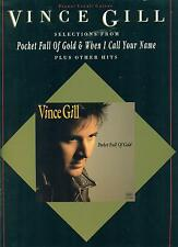 VINCE GILL-PIANO/VOCAL/GUITAR MUSIC BOOK RARE OUT OF PRINT ON SALE BRAND NEW!!