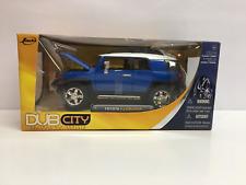 Jada Toys Dub City Toyota FJ Cruiser 1:24 Diecast Metal Blue