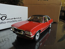 OPEL COMMODORE B GS/E 1977 ROUGE OTTO OTTOMOBILE OTTOMODELS 1/18