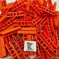 200 Knex Premium Orange Ladder 2-Way Straight Connectors - Standard K'nex Parts