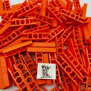 200 Knex Orange Ladder 2-Way Straight Connectors - Standard K'nex Parts
