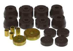 Prothane For 72-85 Dodge D100 / D300 / W100 / W300 Black Body Mount Kit 4-102-BL