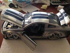 JADA 2008 SHELBY MUSTANG GT500KR GT-500KR 1/24 SILVER