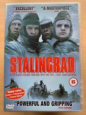 Stalingrad DVD 1992 World War II WW2 Siege Film Movie