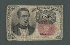 1874 United States 10 Cents Fractional Currency Note - S154