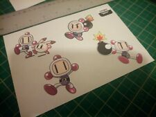 Bomberman retro 16bit Stickers