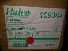 "25 Lamps T8 Bulbs F28T8/835/eco Halco 109364 28W 3500K 48"""