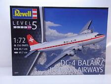 LOT 54633 | Revell 04947 DC-4 Balair/Iceland Airways 1:72 Bausatz NEU in OVP