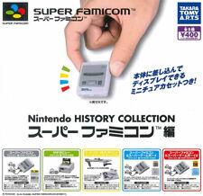 NINTENDO SUPER FAMICOM HISTORY COLLECTION MINI FIGURE LAST SET (with card sheet)