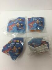 Mcdonalds Happy Meal Vintage Fast Food Toys ~ Looney Tunes Justice League 1993