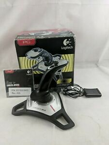Logitech Freedom 2.4 GHz Cordless Joystick With Receiver Dongle & Instructions