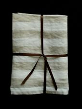 1 WASHED 100% LINEN HAND/ GUEST/ SPA TOWEL