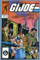 G.I. Joe: A Real American Hero #62 (Aug 1987, Marvel) Larry Hama Johnson Jones