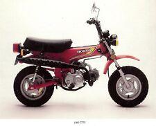1980 HONDA CT70 MINI TRAIL MOTORCYCLE BROCHURE -HONDA CT 70