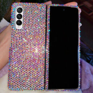 Bling Diamond Case Cover For Samsung Galaxy Z Fold 3 5G With SWAROVSKI ELEMENTS