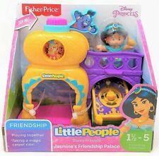 Little People Disney Princess Jasmine Friendship Palace Playset Figure Toy