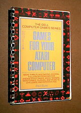 GAMES FOR YOUR ATARI COMPUTER Book - Full of BASIC Game Programs