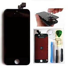 For iPhone 5 LCD Lens Screen Touch Assembly Display Replacement Digitizer Black