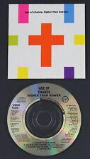 "AGE OF CHANCE Higher Than Heaven 3"" CD single UK 1990 Virgin"
