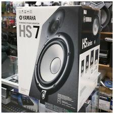 Yamaha HS7 Powered Studio Monitor Speaker (Black), 1 piece **AUTHORIZED DEALER**
