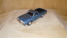"1/25 SCALE  DIE CAST BY MAISTO  PREMIERE 1965 CHEVY EL CAMINO    8"" LONG"