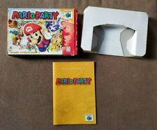 (No Game) Mario Party 64 N64 Box & Manual Only