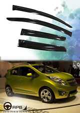 For Chevrolet Spark 09-15 Deflector Window Visors Guard Vent Weather Shield