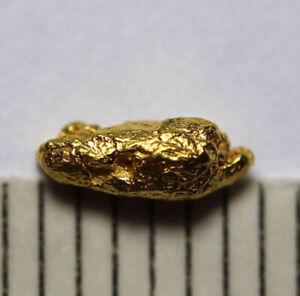 1 GOLDNUGGET- GOLD NUGGET aus ALASKA! 6mm