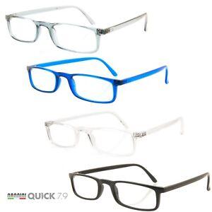 Nannini Quick 7.9 Lightweight Reading Glasses Italian Free Shipping