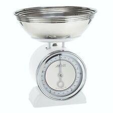 100% Genuine! Avanti Vintage Mechanical Kitchen Scales White 5kg/20g! Rrp $99.95