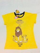 Primark Disney The Lion King Simba Ladies Women Pyjamas PJ Top T-Shirt