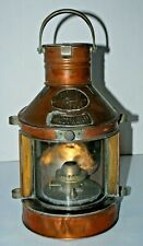 Vintage Tung Woo Masthead Oil Lamp Nautical
