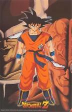 Dragon Ball Z Goku 1998 Anime Poster 22x34
