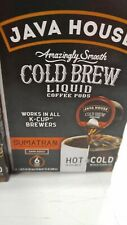 36 Count Java House Cold Brew Coffee Concentrate Single Serve Liquid Pods