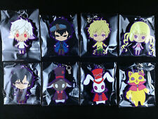 Karneval Rubber Strap Key Chain Complete set of 8 official Movic Box New