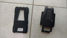 Protective Skin Cover Case Holster for Motorola DROID RAZR MAXX - Black