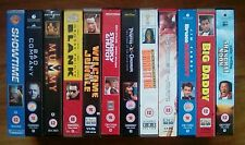 Vhs videos x12 Comedy, Action, Adventure Films