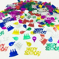 Happy Birthday CONFETTI TABLE SPRINKLES Multi colour TABLE DECORATIONS party