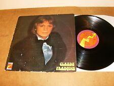 CLAUDE FRANCOIS : TOI ET MOI CONTRE LE MONDE ENTIER - FRENCH LP 1975 - FLECHE